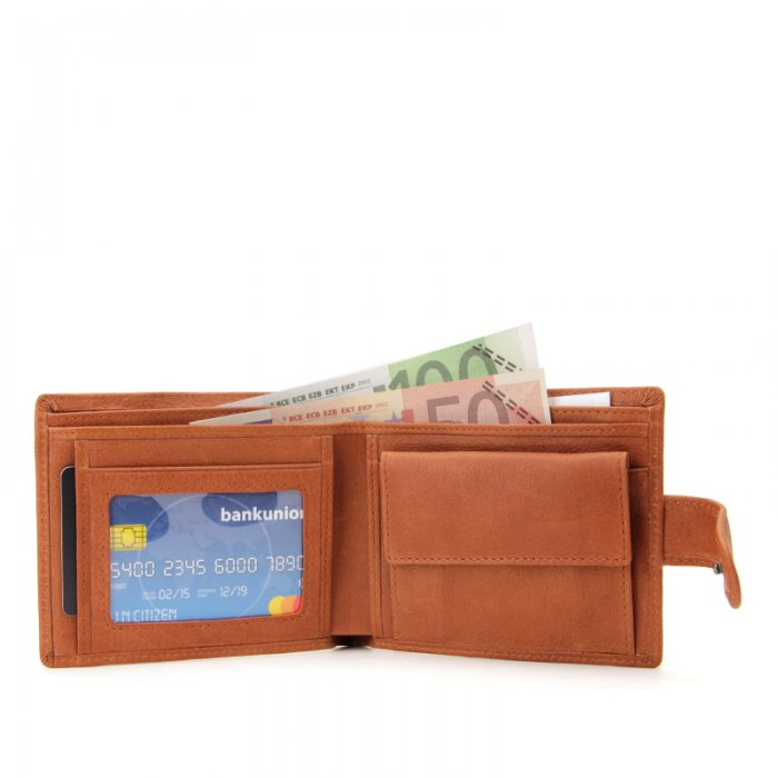 Mens-Wallet-With-Coin-Pocket-Button-Closure-Bifold-Wallet-WL020-6