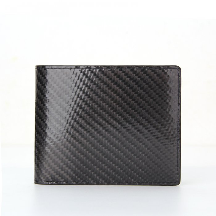 Minimalist-Bifold-Men-RFID-Blocking-Carbon-Fiber-Wallet-WL021-1