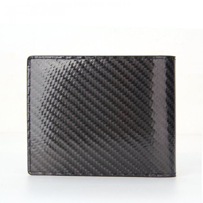 Minimalist-Bifold-Men-RFID-Blocking-Carbon-Fiber-Wallet-WL021-2