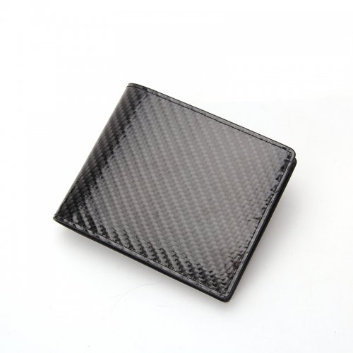 Minimalist-Bifold-Men-RFID-Blocking-Carbon-Fiber-Wallet-WL021-3