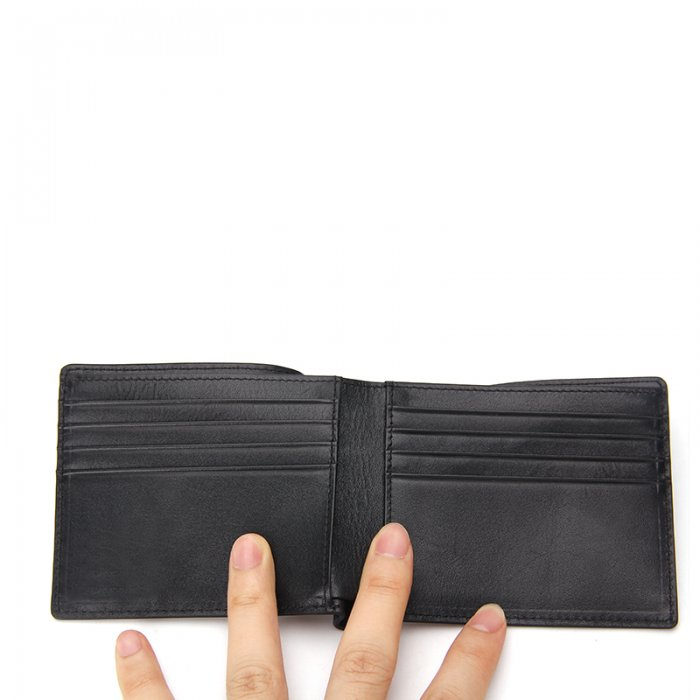 Minimalist-Bifold-Men-RFID-Blocking-Carbon-Fiber-Wallet-WL021-4