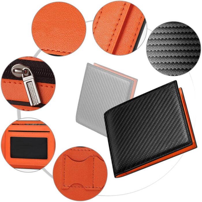 Multi-Function-RFID-Blocking-PU-Leather-Bifold-Mens-Wallet-WL010-4