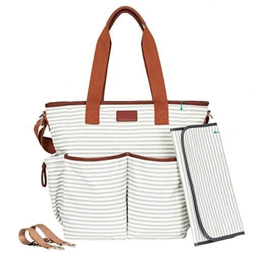 Multi-pocketed-Baby-Handbag-Baby-Changing-Handbag-HB069-1