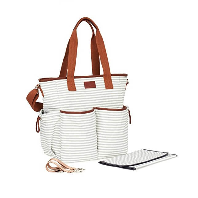 Multi-pocketed-Baby-Handbag-Baby-Changing-Handbag-HB069-2