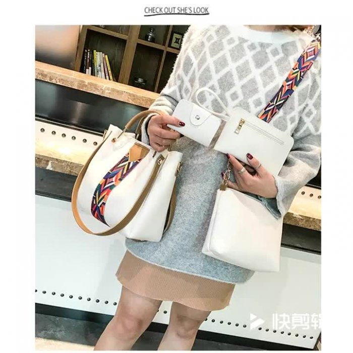 New-Fashion-4pcs-Sets-Bags-Solid-Totes-Designer-handbags-HB077-1