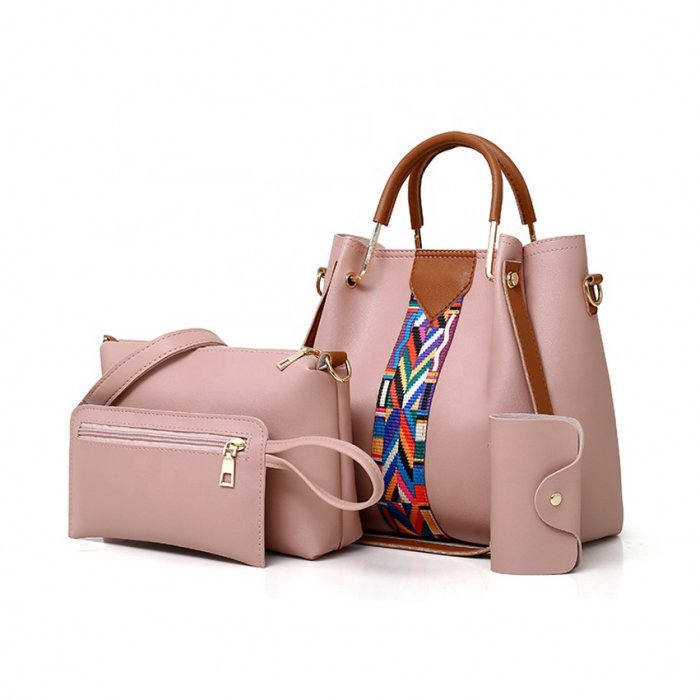 New-Fashion-4pcs-Sets-Bags-Solid-Totes-Designer-handbags-HB077-3