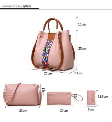 New-Fashion-4pcs-Sets-Bags-Solid-Totes-Designer-handbags-HB077-5