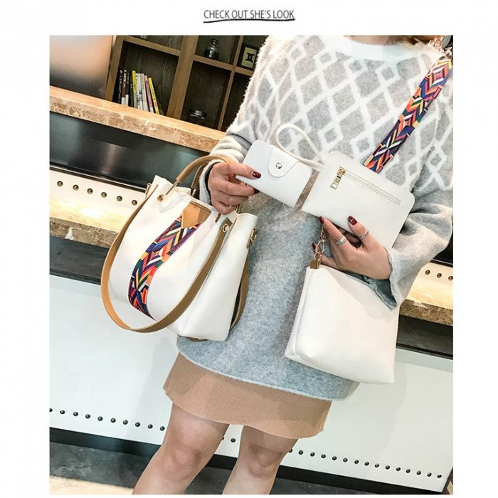 New-Fashion-4pcs-Sets-Bags-Solid-Totes-Designer-handbags-HB077-7