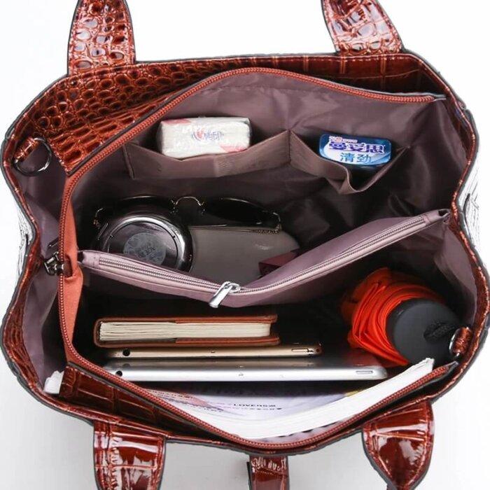 New-Luxurious-3-piece-Suit-Women-Bag-Large-Capacity-Handbag-HB070-4
