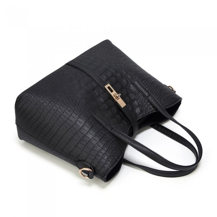 New-Style-PU-Crocodile-Ladies-Bags-Handbag-Sets-HB071-3