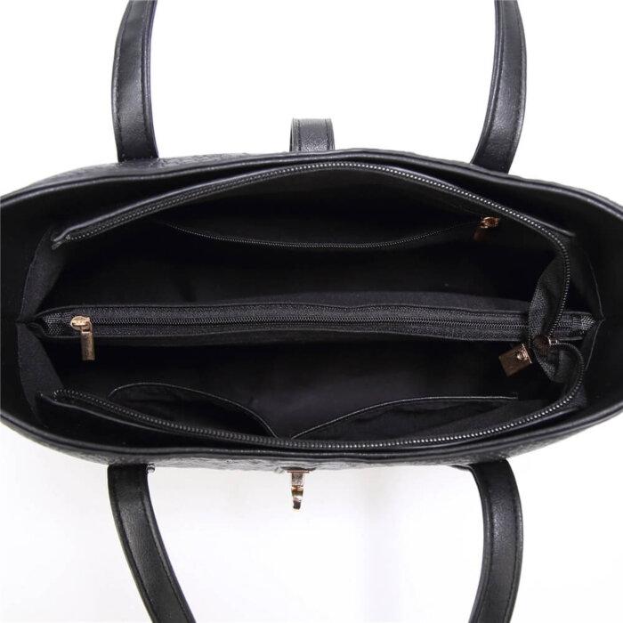 New-Style-PU-Crocodile-Ladies-Bags-Handbag-Sets-HB071-5