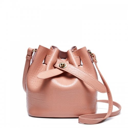 New-alligator-print-cowhide-bucket-handbag-CHB088-7
