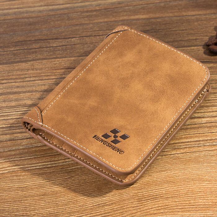 New-matte-short-wallet-for-man-wholesale-WL066-4