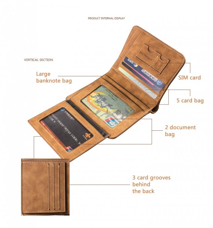 New-matte-short-wallet-for-man-wholesale-WL066-5