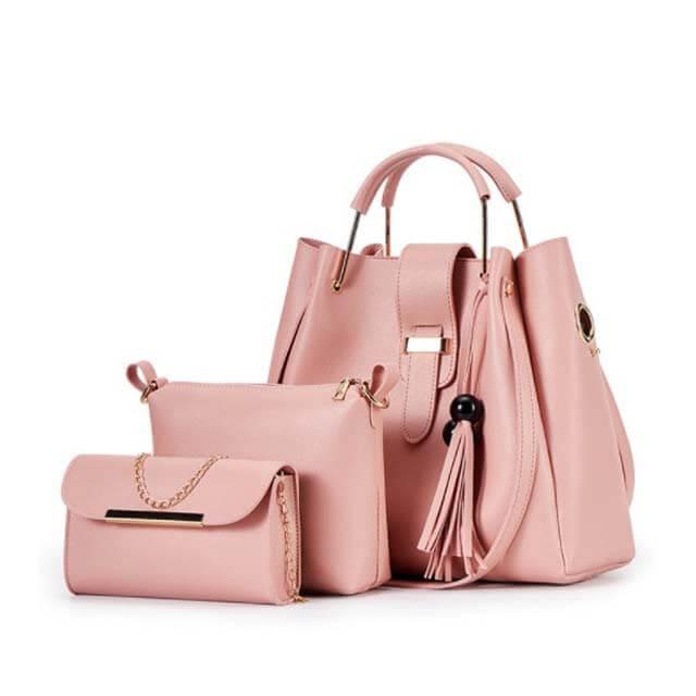 New-three-piece-bag-tassel-handbag-HB025-1