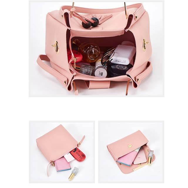 New-three-piece-bag-tassel-handbag-HB025-4