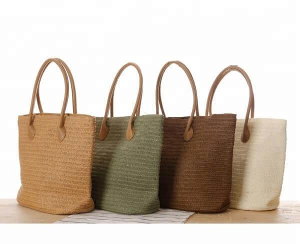 OEM-custom-nature-color-straw-beach-bag-foldable-shopping-tote-handbag-HB038-3