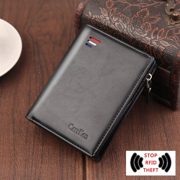 Oil-waxed-short-leather-wallet-wholesale-WL069-1