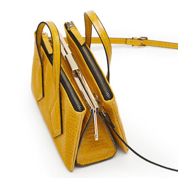 Online-shopping-exotic-crocodile-metal-clip-fashion-crossbody-handbag-HB039-3