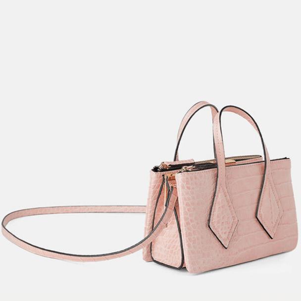 Online-shopping-exotic-crocodile-metal-clip-fashion-crossbody-handbag-HB039-5