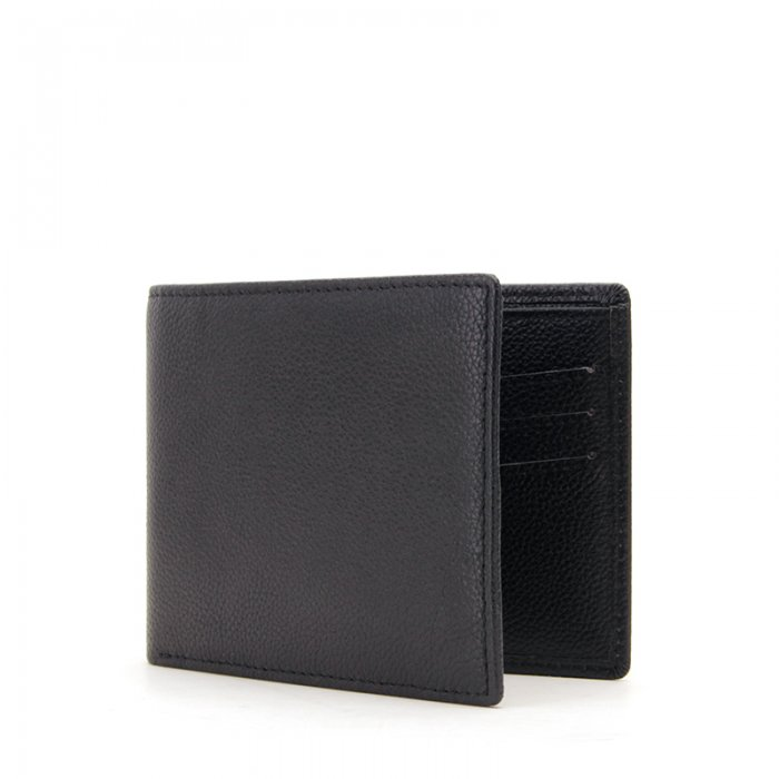 RFID-Blocking-Bi-fold-Custom-PU-Real-Leather-Wallet-WL006-3