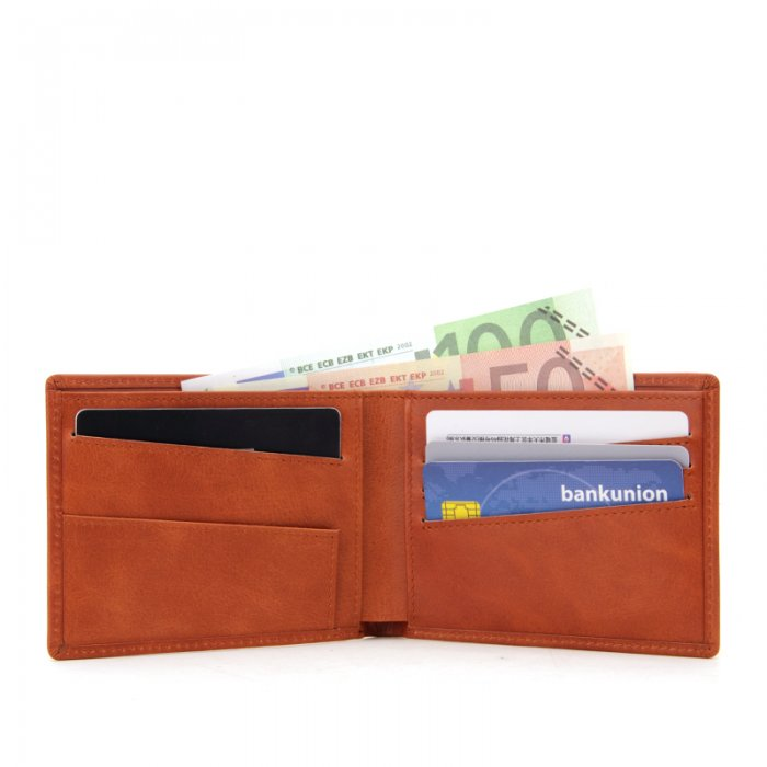 RFID-Blocking-Bi-fold-Custom-PU-Real-Leather-Wallet-WL006-4