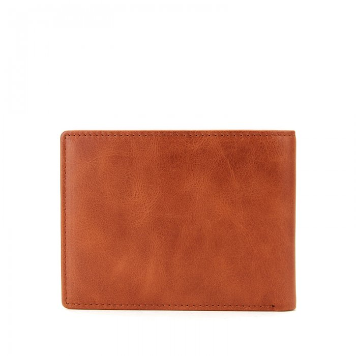 RFID-Blocking-Bi-fold-Custom-PU-Real-Leather-Wallet-WL006-6