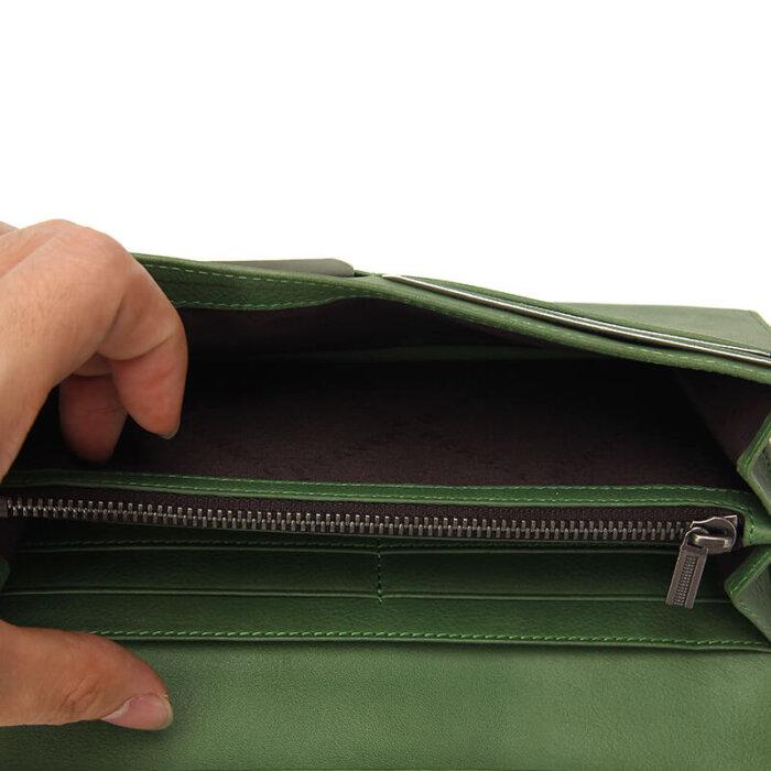 RFID-Blocking-Bifold-Long-Card-Wallet-Wholesale-WOL023-1