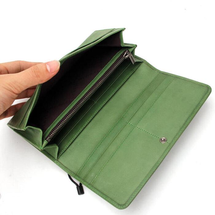 RFID-Blocking-Bifold-Long-Card-Wallet-Wholesale-WOL023-4