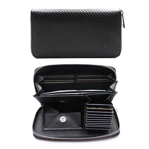 RFID-Blocking-Carbon-Fiber-Wallet-WL037-1