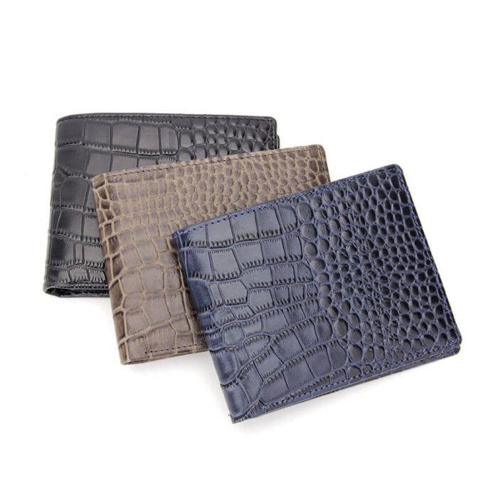 RFID-Blocking-Crocodile-Pattern-Leather-Mens-Wallet-Wholesale-WL003-5