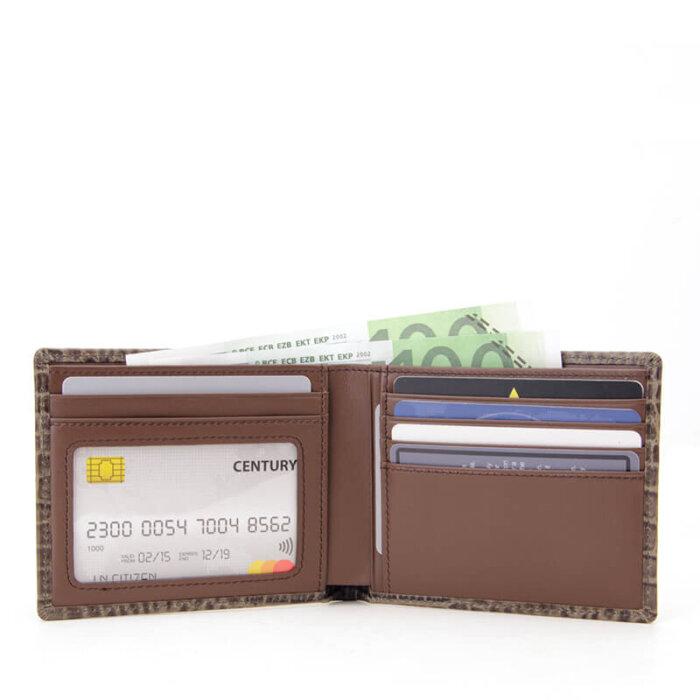 RFID-Blocking-Crocodile-Pattern-Leather-Mens-Wallet-Wholesale-WL003-6