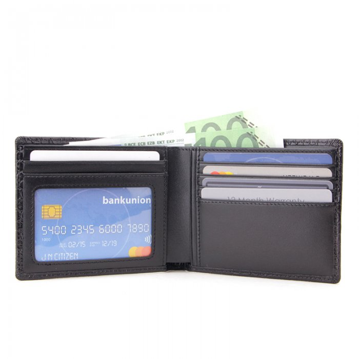 RFID-Blocking-Crocodile-Pattern-Leather-Mens-Wallet-Wholesale-WL003-7