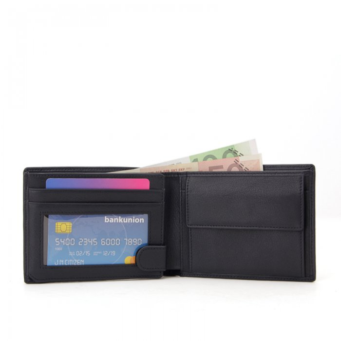 RFID-Blocking-Leather-Mens-Wallet-With-Coin-Pocket-Wholesale-WL008-1