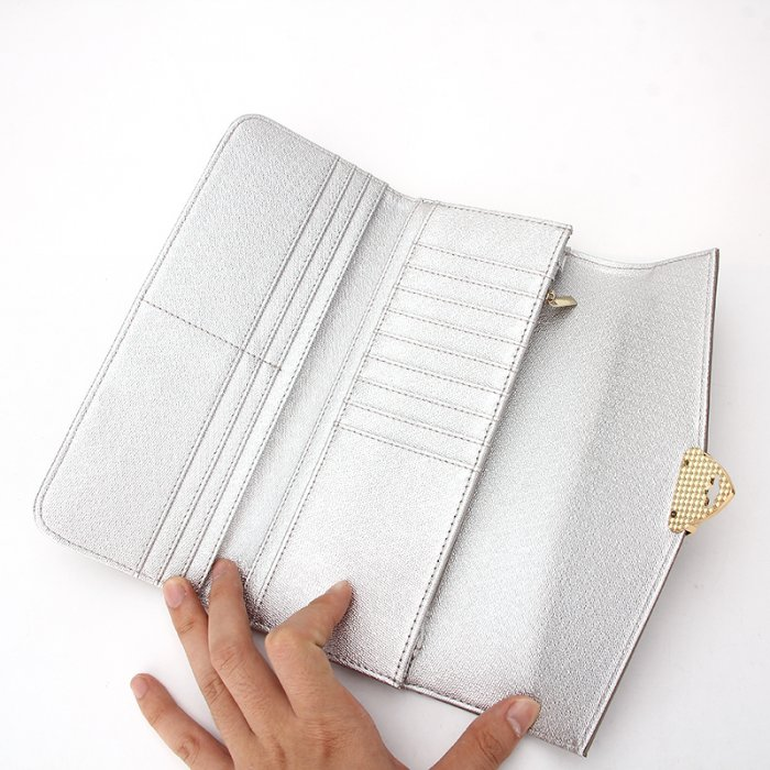 RFID-Blocking-Silver-Inside-Long-Wallet-For-Women-WOL024-4