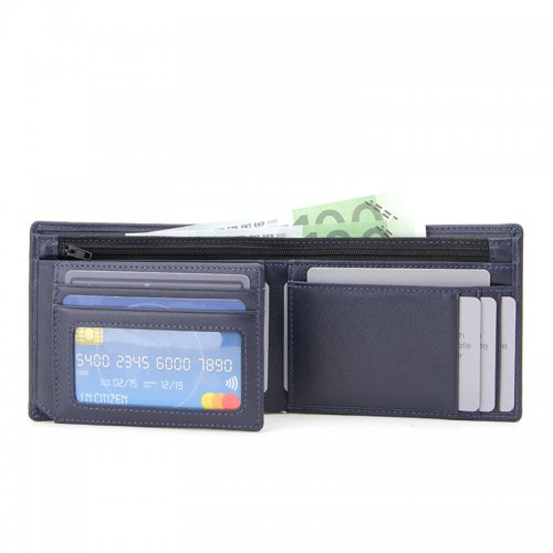 RFID-Blocking-Trifold-PU-Leather-Mens-Wallet-Wholesale-WL022-2