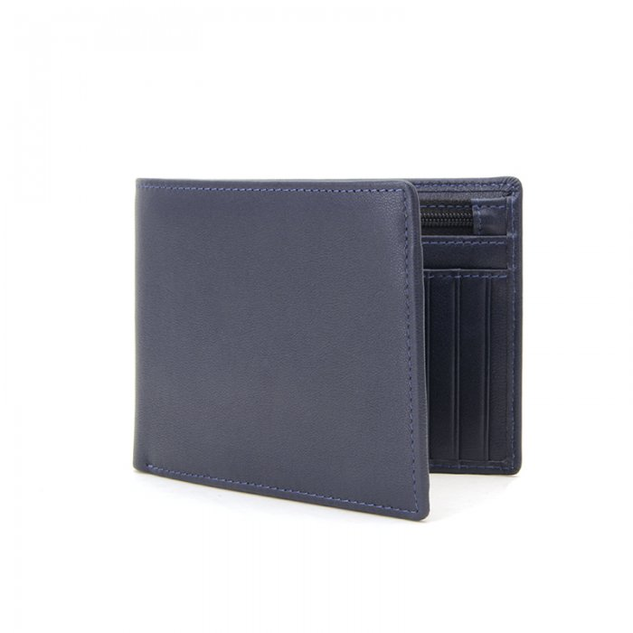 RFID-Blocking-Trifold-PU-Leather-Mens-Wallet-Wholesale-WL022-3