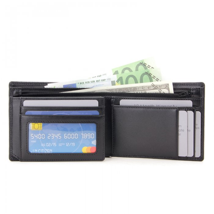 RFID-Blocking-Trifold-PU-Leather-Mens-Wallet-Wholesale-WL022-5