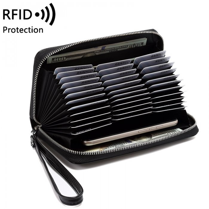 RFID-woman-long-wallet-wholesale-WOL037-2