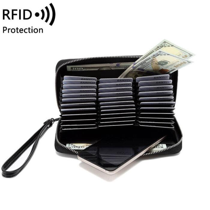 RFID-woman-long-wallet-wholesale-WOL037-5