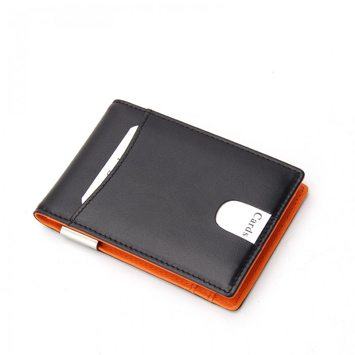 Small-Size-PU-Leather-Money-Clip-Man-Wallet-WL016-1