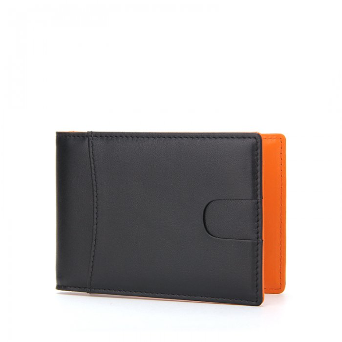 Small-Size-PU-Leather-Money-Clip-Man-Wallet-WL016-4