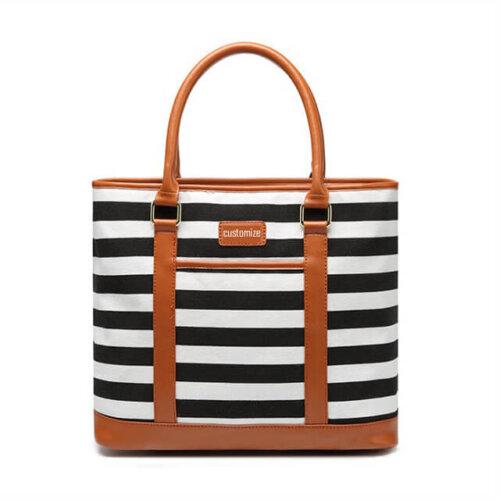 Small-batch-custom-plus-LOGO-printed-striped-bucket-handbags-HB013-1