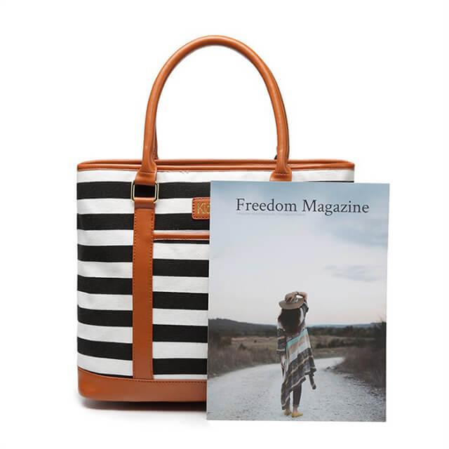 Small-batch-custom-plus-LOGO-printed-striped-bucket-handbags-HB013-2