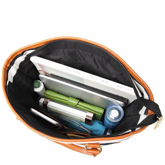 Small-batch-custom-plus-LOGO-printed-striped-bucket-handbags-HB013-6