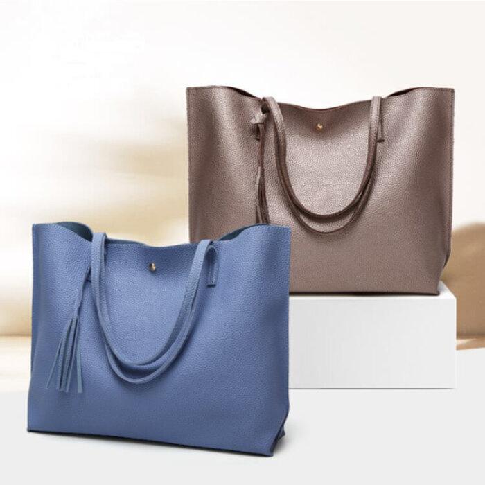 Soft-plain-women-bags-custom-fashion-pu-leather-tote-handbag-HB041-1