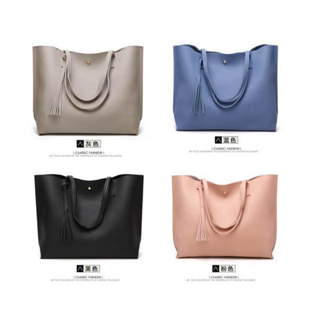Soft-plain-women-bags-custom-fashion-pu-leather-tote-handbag-HB041-2