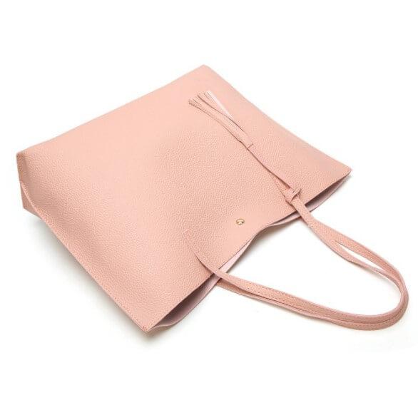 Soft-plain-women-bags-custom-fashion-pu-leather-tote-handbag-HB041-3