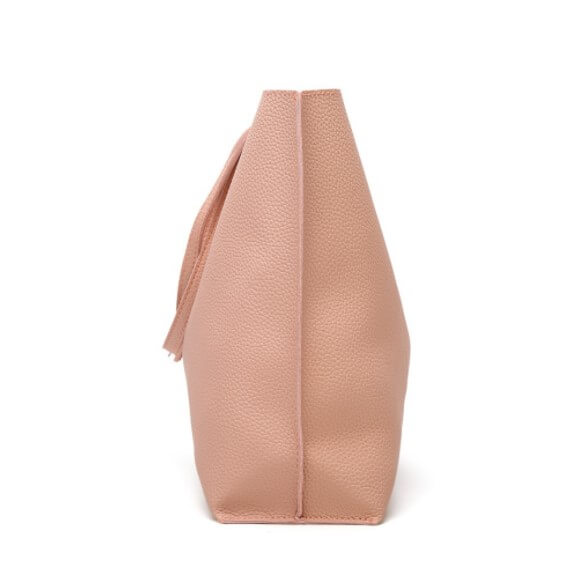 Soft-plain-women-bags-custom-fashion-pu-leather-tote-handbag-HB041-4