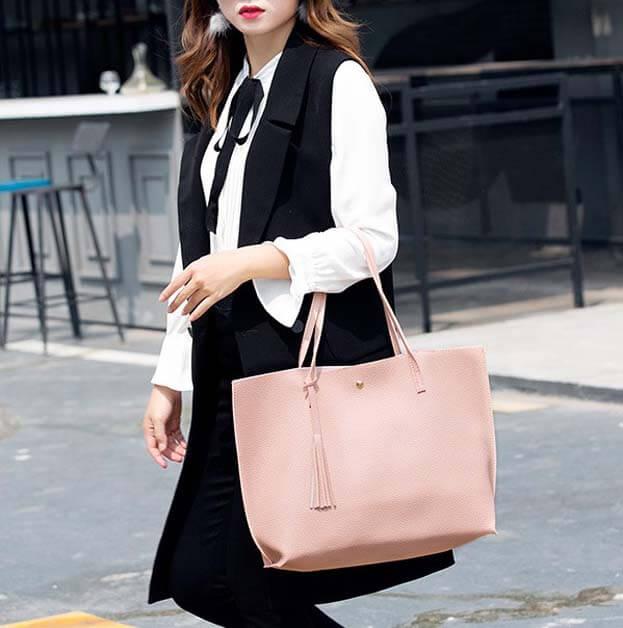 Soft-plain-women-bags-custom-fashion-pu-leather-tote-handbag-HB041-6